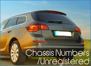 chassis numbers insurance