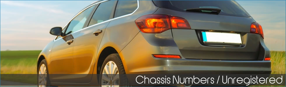 Chassis number insurance