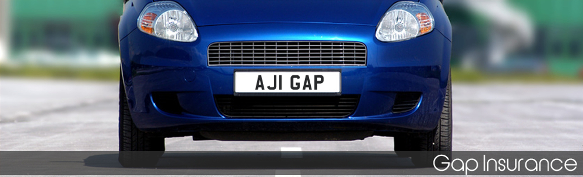 Gap Insurance - a blue car
