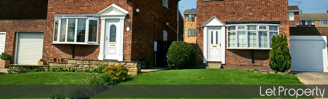 Residential Let Property Insurance - Row of terraced properties